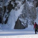 Vinterklatring på Hauktjern